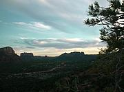 Sedona Prints - Sedona Night Sky Print by Aleksandra Buha