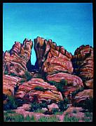 Edward Williams Art - Sedona Portal by Edward Williams