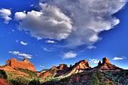 Red Mountains Prints - Sedona red rocks Print by Anthony Citro