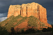 Red Rocks Of Sedona Prints - Sedona Sandstone Standout Print by Carol Groenen