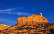 Arizona Sedona Prints - Sedona Smoke Signals Print by Mike  Dawson