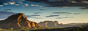 Sedona Sunset Print by Scott Faunce