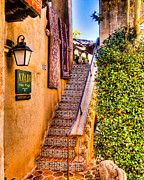 Tlaquepaque Sedona Prints - Sedona Tlaquepaque Shopping Center II Print by Jon Berghoff