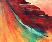 Sedona Painting Prints - Sedona Vortex Print by Julie Lueders