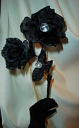 Flower Jewelry - See Into Darknesss Beauty by Jozy Me