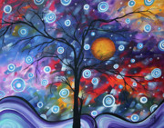 Purple Artwork Posters - See the Beauty Poster by Megan Duncanson