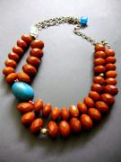 Red Beads Jewelry - Seed by Tracie Thornton