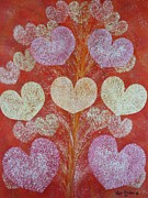 Hearts Pastels - Seeds of Hearts by Richard Van Order