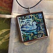 Acrylic Necklace Jewelry - Seeing Clearly by Dana Marie