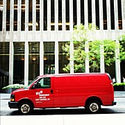Midtown Art - Seeing Red #vans #red #midtown by Maro Hagopian