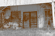 Screen Doors Photo Metal Prints - Seen Better Days Metal Print by Connie Fox