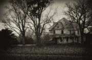 Haunted House Art - Seen Better Days by Off The Beaten Path Photography - Andrew Alexander