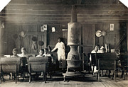 One Room School House Prints - Segregated School, 1916 Print by Granger