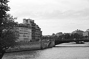 Chuck Kuhn - Seine Black and White