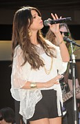 Dee Cercone Prints - Selena Gomez At A Public Appearance Print by Everett