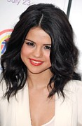 2010s Makeup Posters - Selena Gomez At Arrivals For Ramona And Poster by Everett