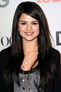 Selena Gomez Framed Prints - Selena Gomez At Arrivals For Seventh Framed Print by Everett