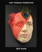 Self-portrait Reliefs - Self Mask by Anne Cameron Cutri