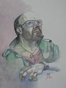 Self-portrait 2005 Print by Ray Agius
