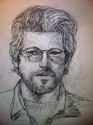 Self Portrait Print by Jeff Levitch