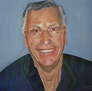 Ontario Portrait Artist Paintings - Self Portrait by Keith Bagg