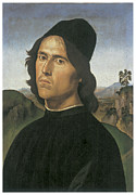 Self-portrait Prints - Self-Portrait Print by Lorenzo Di Credi