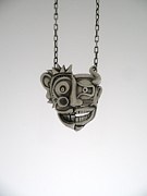 Metal Jewelry Metal Prints - Self Portrait Metal Print by Michael Marx