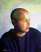 Breast Cancer Art - Self Portrait Mid-Treatment by Laura Tasheiko