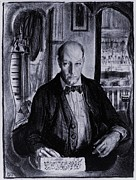 The Eight Prints - Self-portrait Of George Bellows Print by Everett