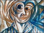 Self-portrait  Print by Paulo Zerbato