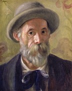 Bowtie Art - Self Portrait by Pierre Auguste Renoir