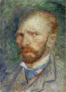 Self-portrait Posters - Self-portrait Poster by Vincent Van Gogh