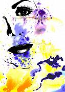 Fashion Face Digital Art Posters - Self Poster by Ramneek Narang