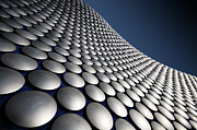 In A Row Metal Prints - Selfridges Exterior, Birmingham Metal Print by Stewart Hardy