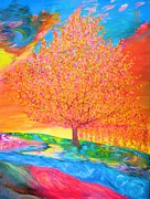 Bhvinder Kaur Sidhu - Semi Abstract Tree