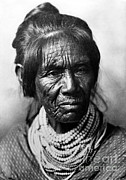 Native American Woman Prints - Seminole Indian Of The Florida Print by Photo Researchers