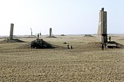 Ground Prints - Semipalatinsk Nuclear Test Site Print by Ria Novosti