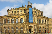 Historical Art - Semper Opera House Dresden by Christine Till