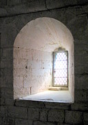 Abbaye Prints - Senaque Abbey Arched Window Print by Carla Parris