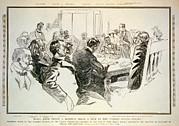 Editorial Framed Prints - Senate Committees 1904 Hearing Framed Print by Everett