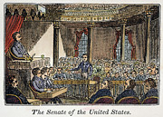 Senate Prints - Senate Of United States Print by Granger