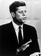 Debate Posters - Senator John F. Kennedy During One Poster by Everett