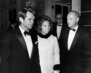 Senator Kennedy Art - Senator Robert F. Kennedy, Ethel by Everett