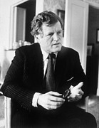 1980s Prints - Senator Ted Kennedy, Ca. 1980 Print by Everett
