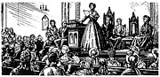 Suffragette Prints - Seneca Falls Meeting, 1848 Print by Granger