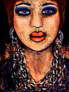 Earrings Mixed Media - Senorita by Natalie Holland