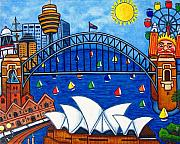 Australia House Prints - Sensational Sydney Print by Lisa  Lorenz