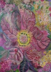 Anne-elizabeth Whiteway Prints - Sensual Floral from the Heart Through the Veins Print by Anne-Elizabeth Whiteway