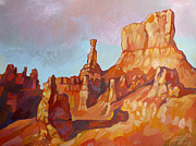 National Painting Posters - Sentinel - Bryce Canyon Poster by Filip Mihail