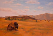 Buffalo River Paintings - Sentinel by Ruth Ann Sturgill